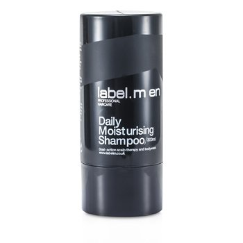 Label.M Mens Daily Moisturising Shampoo (Dual-Action Scalp Therapy and Bodywash)