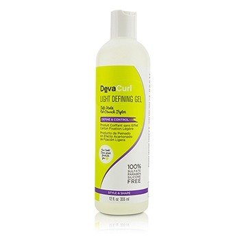 DevaCurl Light Defining Gel (Soft Hold No-Crunch Styler - Define & Control)