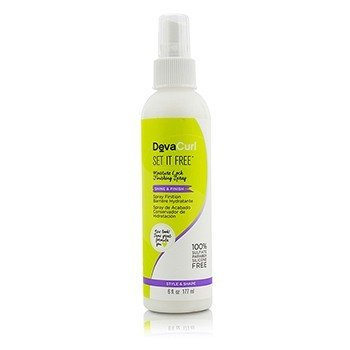 DevaCurl Set It Free (Moisture Lock Finishing Spray - Shine & Finish)