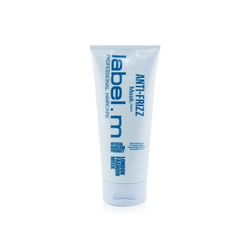 Label.M Anti-Frizz Mask (Ultra-Conditioning For Longer-Lasting, Frizz-Free and Silky Hair)